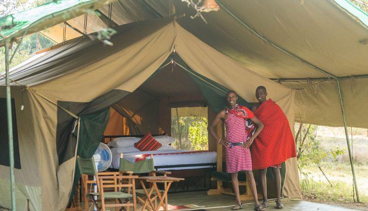 Le camp d'Olgatuni s'ouvre à Masaï Mara