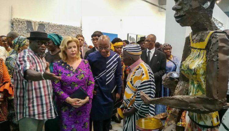 Dominique Ouattara inaugure le musée des cultures contemporaines Adama Toungara
